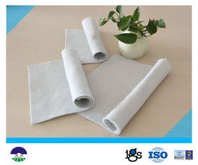 Staple Fiber Needle punched Geotextile Drainage Fabric 800G For Reinforcement Base