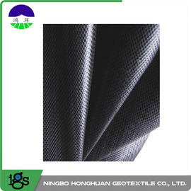 460G Black Geotextile Filter Fabric Convenient / Woven Geotextiles