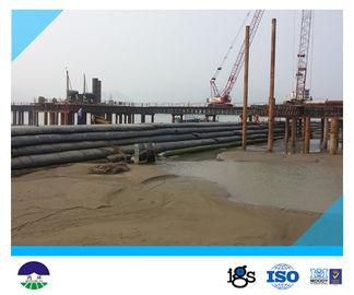 단단한 댐 기술설계를 위한 경계선 13.6meters Geotube